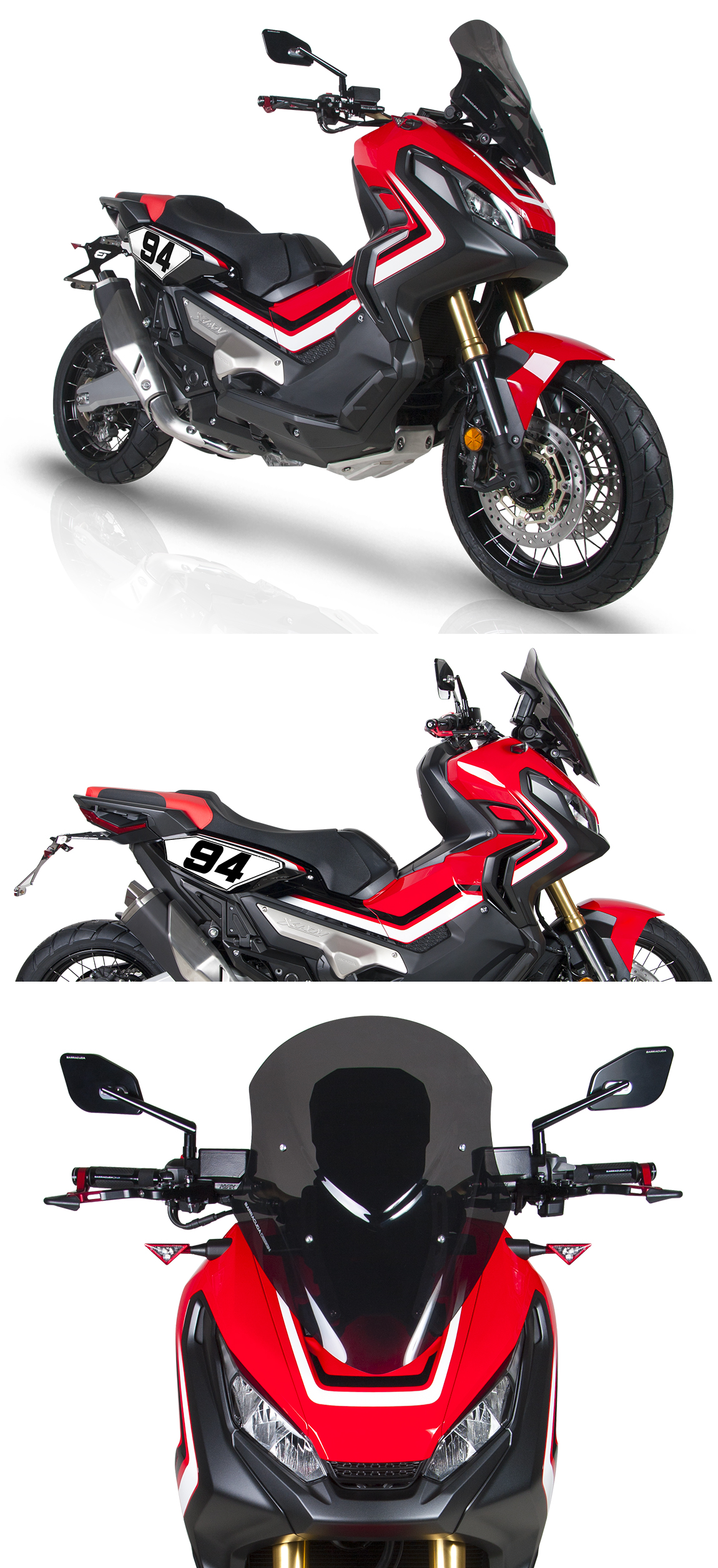 Honda X-ADV 2017 Motorcycle Accessories